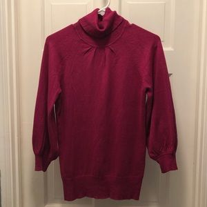 2 for $9 - Pretty Express 3/4 puff sleeve sweater.